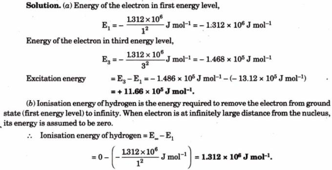2 Energy of electron in Hydrogen