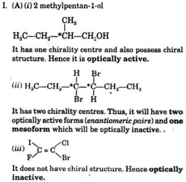 2 optically active compounds