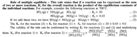 2 Rule of multiple equilibria