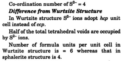 2 sphalerite structure name compounds
