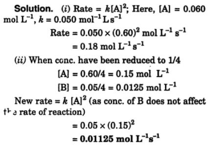 2 The rate of reaction 2A+B = A2B
