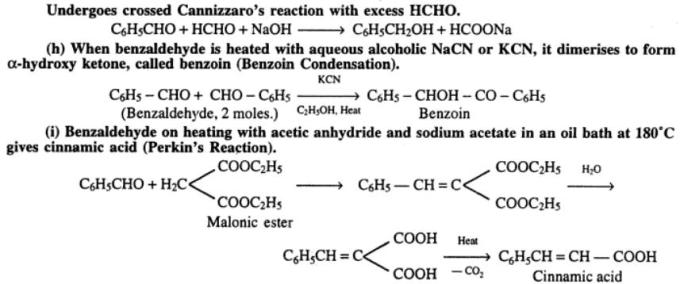 2 Various reactions of Carbonyl Group
