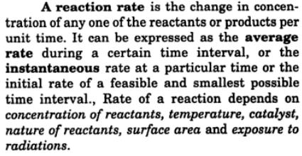 2 what is reaction rate