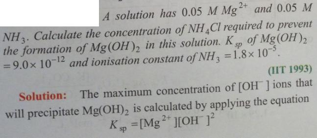 26 Ionic equilibrium dissociation constant