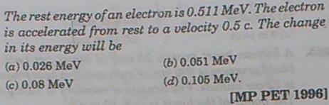 262a relativistic correction