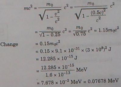 262b relativistic correction