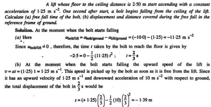 28b A lift and a bolt problem