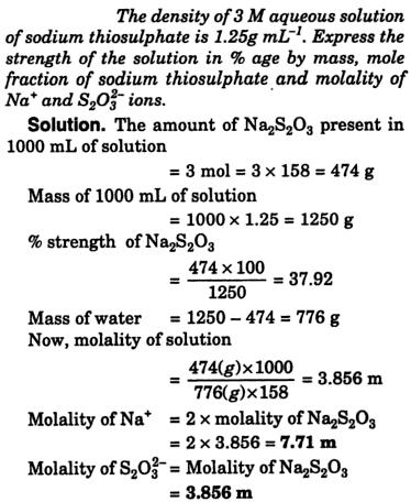 29a Molarity Molality