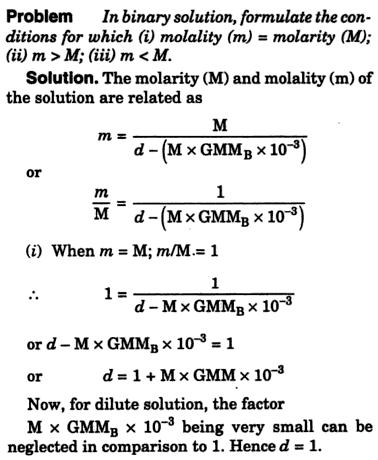 29i Molarity Molality
