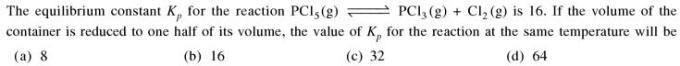 2a equilibrium constant Kp for the reaction