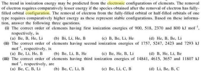 2a Trend in ionization energy