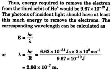3 According to Bohr's electronic energy of Hydrogen