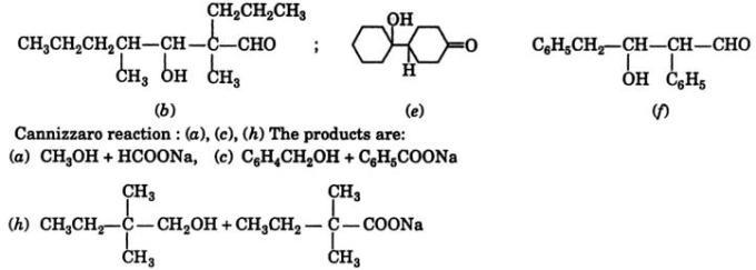 3 Aldol condensation products 2
