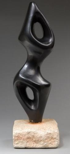 3 Black sculpture