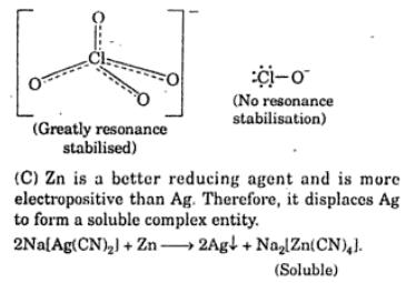 3 Cl O4 is greatly stbilized by resonance