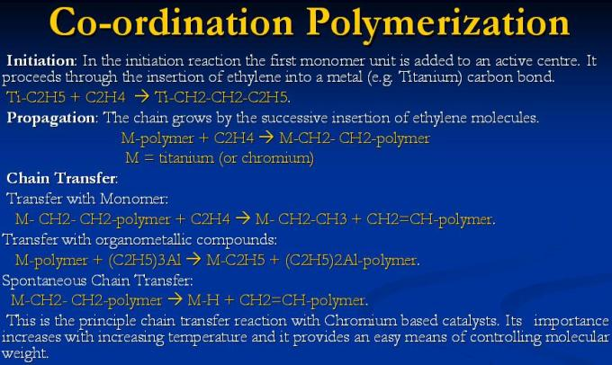 3 Co-ordination Polymerization with Titanium