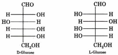 3 D-Glucose and L-Glucose