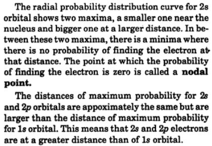 3 Draw and compare the radial probability distribution