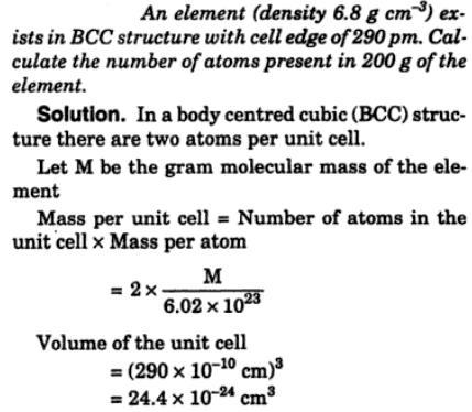 3 element of density 6.8 gm per cc