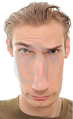 3 elongated face