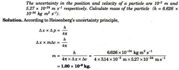 3 Find mass of the particle