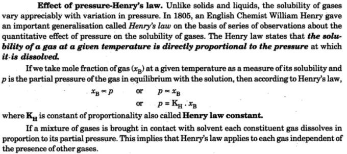 3 Henry's law effect of pressure in solubilty of gases