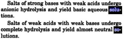 3 Hydrolysis is reverse of neutralization