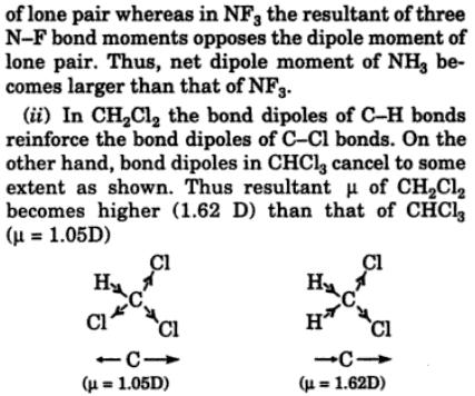 3 N-F bond is more polar than N-H bond