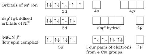 3 Ni 2+ ion electron configuration