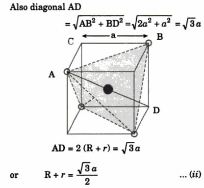 3 tetrahedral void closed packed array of N atoms