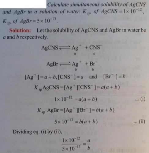30 Ionic equilibrium dissociation constant