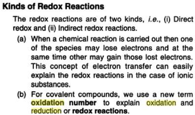 30e Oxidation Reduction