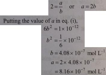 31 Ionic equilibrium dissociation constant