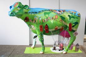 31b Green Cow funny