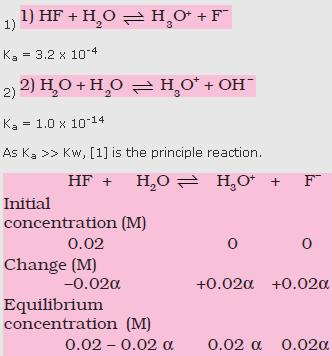 31c HF H2O