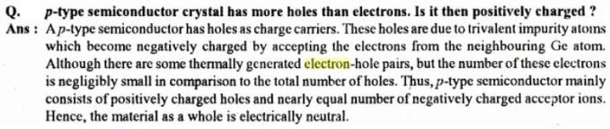 31h Conductivity mobility electron semiconductors