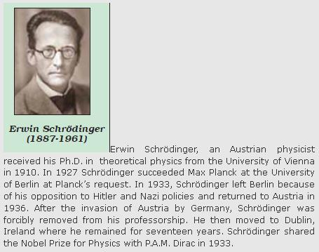 31j Erwin Schrodinger