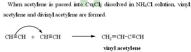33b acetylene passed into Cu2Cl2 dissolved in NH4Cl