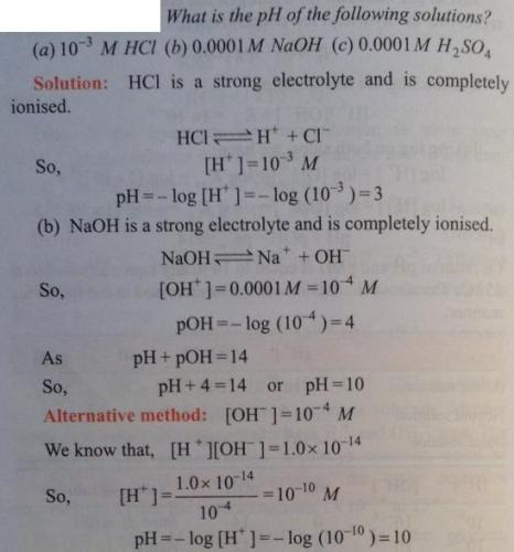 34 Ionic equilibrium dissociation constant