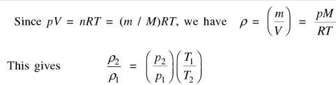 36b ratio of densities