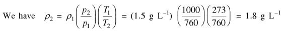 38b the density of a gas