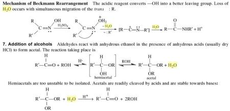 3k mechanism of Beckmann Rearrangement