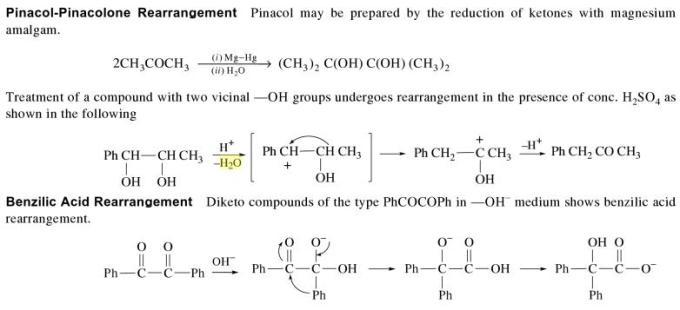 3s Pinacol Pinacolone Rearrangement