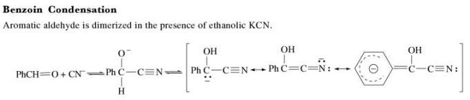 3t Benzoin condensation