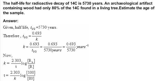 4.14a QA Chemical Kinetics CBSE Std 12