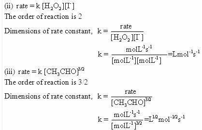 4.1b QA Chemical Kinetics CBSE Std 12