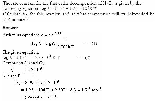 4.27 QA Chemical Kinetics CBSE Std 12