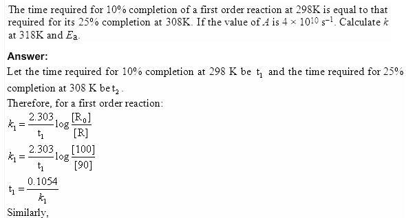 4.29a QA Chemical Kinetics CBSE Std 12