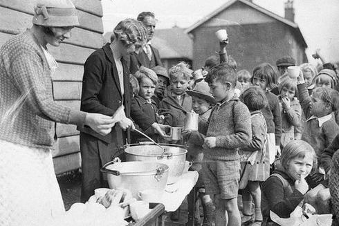 4 Americans have forgotten about soup kitchen
