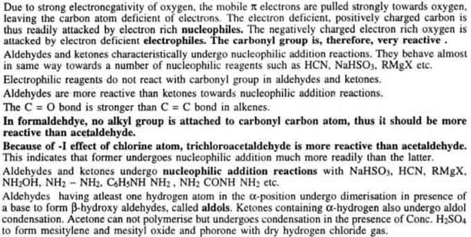 4 Carbonyl group gyan